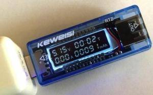 Tester curent USB Keweisi