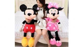 Plus Minnie Mouse/Mickey Mouse, 80cm