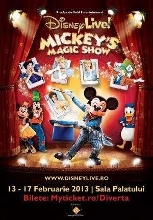 Disney Live! prezinta Mickey`s Magic Show in premiera la Bucuresti