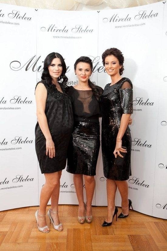 Andreea Marin Banica, Geanina Ilies si Ellie White, sexy in Little Black Dress!